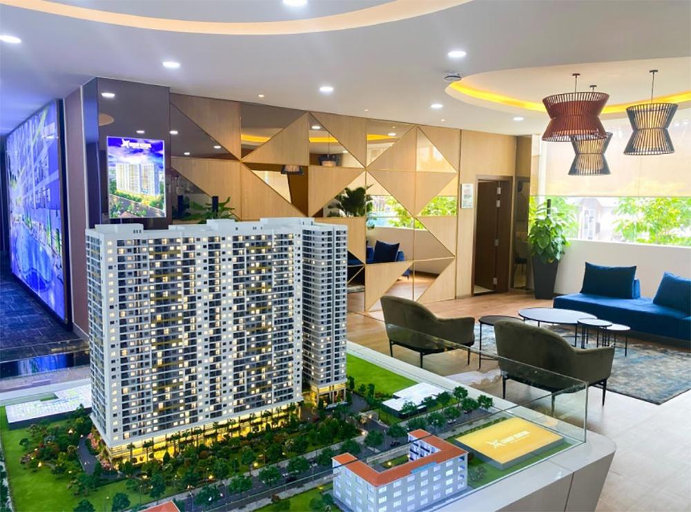 Ra mắt nhà mẫu và đóng nắp hầm dự án căn hộ Legacy Central